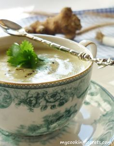 Jerusalem artichoke soup - my cooking secrets