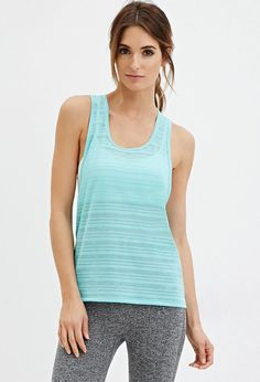 Shadow Stripe Muscle Tee | Forever 21 #forever21active