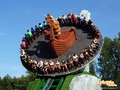 Plopsaland De Panne is a theme park located near the town of De Panne on the Belgian coast.