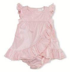Ralph Lauren Childrenswear Infant Girls' Ruffled Knit Dress