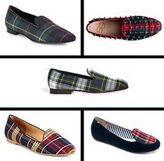 Not for sleeping ... SLIPPERS #slippers #plaid #tartan #xmas