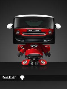 Mini Cooper as a Transformer