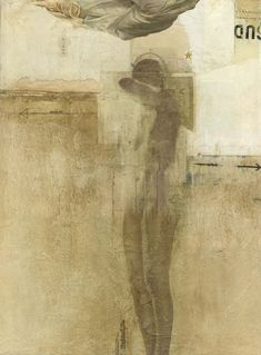 Dick Allowatt (collage painting)