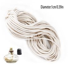 the best 2015 Hot Russian wick 1m to a package 10m to roll 100% cotton wick kerosene lamp wick accessories professional burn-resistant