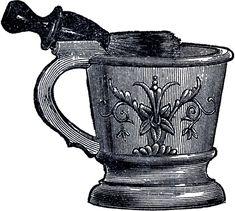 Vintage Shaving Mug Image! - The Graphics Fairy