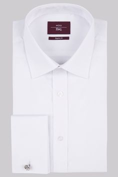 Moss Esq. Moss Esq, Regular Fit White Double Cuff Textured Wow-inducing white for your formal wardrobe. When it comes to nailing the classic gent aesthetic, its all about finding the perfect white shirt. This richly textured piece from our Moss Esq. range wil http://www.MightGet.com/january-2017-12/moss-esq-moss-esq-regular-fit-white-double-cuff-textured.asp
