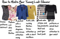 HOw to Make your Tummy Look Slimmer