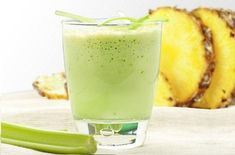 Celery is one of the most nutritious vegetables we can consume, as it is a. Celery Smoothie, Smoothie Detox, Celery Juice, Most Nutritious Vegetables, Anti Inflammatory Smoothie, Pineapple Benefits, Fat Loss Diet, Weight Loss Meal Plan, Weight Loss Smoothies