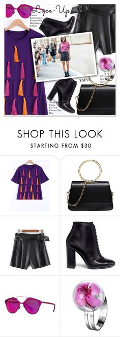 """""""Lace It Up"""" by paculi ❤ liked on Polyvore featuring Stella Luna, 3.1 Phillip Lim, Christian Dior and laceup"""