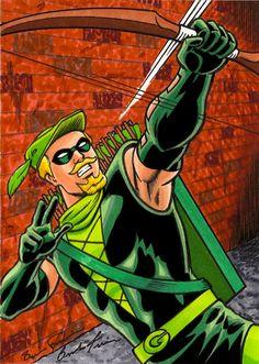 Green Arrow by Brendon Fraim