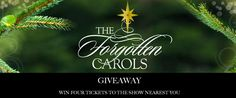Win 4 FREE Tickets to The Forgotten Carols. Go to my blog to find out how to enter!