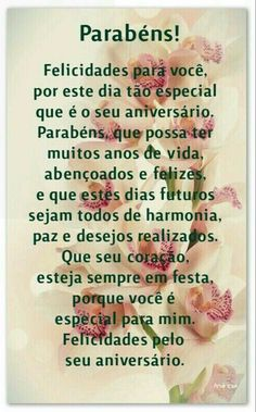 Que te abençoe sempre mana. Birthday Msg, Birthday Cards, Birthday Quotes, Easy Craft Projects, Happy B Day, Messages, Congratulations, Thoughts, Humor