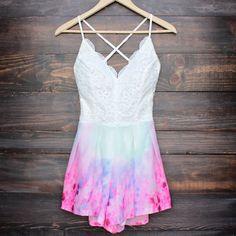 x shophearts - tie dye watercolor crochet open back romper    Shop Hearts -  Wanelo App for Shopify 102e33dbd