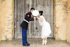 Usmc ballet engagement photo