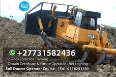 call us +27731582436 or email us : mulanioperators@yahoo.com  Mulani operators training and projects school  we offer skills training fordifferent machines. Reg no. 2013/124410/07. The training is both theory and practicals for a period of 10 days, we offer our students free accommodation. Our training ground is in Pretoria for the big machines like the grader, lhd scoop, mobilecrane, towercrane,over r, tlb, frontend loader, dumptruck, and the forklift. The school van transports them to Training School, Skill Training, Crane Mobile, Dangerous Goods, Drilling Rig, Dump Trucks, Pretoria, 10 Days, Firefighter