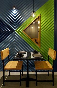 Restaurant Design With Reusable Materials - Cafe interior - Design