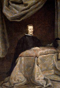 Diego Rodríguez de Silva y Velázquez (Workshop). Felipe IV, 1655
