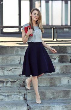 playera falda look perfecto