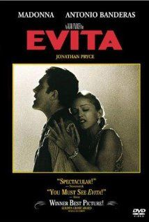 "Evita - Starring Madonna, Jonathan Pryce & Antonio Banderas. The life story of Eva ""Evita"" Duarte de Peron, the wife of President Juan Peron,who rose from poverty to become the most famous Argentine woman in history. Her huge political influence and constant charity works earned her scorn and fear from the military and upper classes but adoration and love from the workers and descamisados. Evita's legendary life is displayed before your eyes as the most hated and most beloved woman in…"