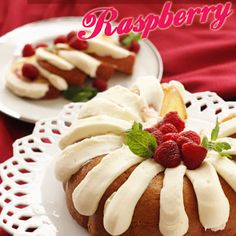 White Chocolate Raspberry Nothing But Bundt Cake