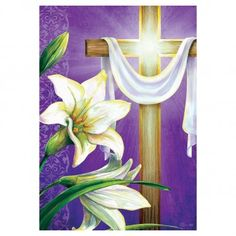 Image result for easter cross garden flag Easter Cross, Garden Flags, Crafts, Painting, Image, Art, Art Background, Manualidades, Painting Art