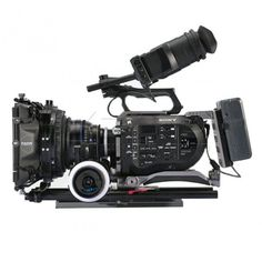 The new TiLTA Rig for Sony FS7 is very stylish and lightweight. Incorporating an FS7 specific VCT compatible baseplate with 15mm clamps on front and back. ARRI