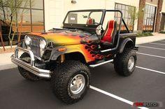 Jeep CJ7 Supercharged V8