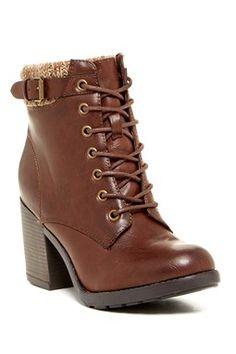 afa66009d80 George Boot Brown Heels