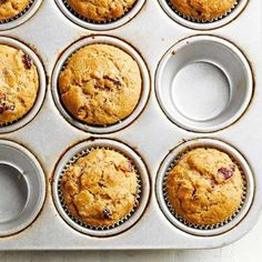 Pick-a-Flavor Honey-Wheat Muffins: These weekday-friendly muffins are healthier than many, thanks to whole wheat flour and limited oil. More recipes: http://www.midwestliving.com/food/comfort/midwest-living-marchapril-2016-recipes/?page=0