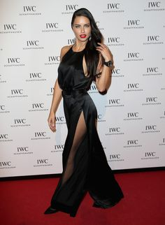 Adriana Lima Photos: IWC Schaffhausen at SIHH 2016 - 'Come Fly With Us' Gala Dinner