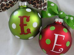 vinyl ornaments...