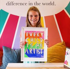 Creativity is key to our children's future. Rainbow Painting, Immersive Experience, Young Entrepreneurs, Business Advice, Creative Kids, Creative Business, Diy For Kids, Encouragement, Diy Projects