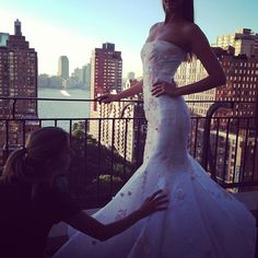 Fitting time: everything has to be perfect!