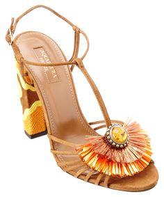 AQUAZZURA Aquazzura Samba 105 Suede Sandal'. #aquazzura #shoes #sandals