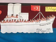 19 Mayıs Atatürk'ü Anma Gençlik ve Spor Bayramı Pano Örnekleri - İlkokul Dökümanları Preschool, Birthday Cake, Kids, Children, Birthday Cakes, Boys, Kid Garden, Nursery Rhymes, Kindergarten