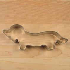Dachshund Cookie Cutter.  One of my favorite birthday gifts was a basket of weiner dog cookies with the recipe and this cookie cutter attached to it.  thanks donna:)