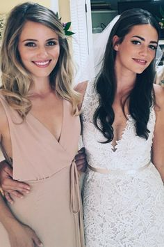 We Didn't Think Bridesmaid Dresses Could Be Sexy — Until We Saw Dianna Agron's