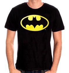 T-shirt Batman DC Comics Classic Logo - Batman Tee - Trending and fashionable Batman Tee - T-shirt Batman DC Comics Classic Logo Col rond Manches courtes Sérigraphie recto coton Tailles Européennes Sous licence officielle batman Batman T-shirt, Logo Batman, Superman, Dc Comics, Batman Comics, Cheap Shirts, Cool Shirts, Tee Shirts, T Shirt Noir