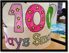100th Day Snack using a 10 frame so students don't count it wrong. Brilliant