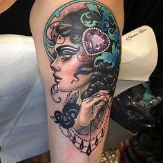 #tattoo #jennakerr #jeweltattoo