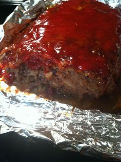 """Elvis Presley loved this meatloaf and served it for Christmas dinner at Graceland - try it, sing a verse of his favorite """"Santa Claus is Coming to Town,"""" and feel like the KING."""