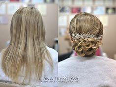 Wedding hairstyles # bridal hairstyles # účes pro nevěsty # nevěsta # romantic hairstyle # romantický svatební účes #