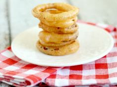 Paleo Onion Rings (Deep Fried & Delicious!)