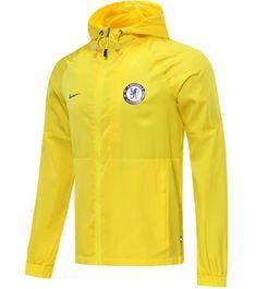 Chelsea 20/21 Yellow Hoodie Windbreaker – zorrojersey Yellow Hoodie, Of Brand, Chelsea, Rain Jacket, Windbreaker, 21st, Hoodies, Model, Jackets