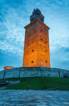 The Hércules tower in A Coruña is currently the only Roman lighthouse in the world that still works