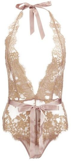 L'Agent by Agent Provocateur Women's Iana Playsuit Taupe/Gold