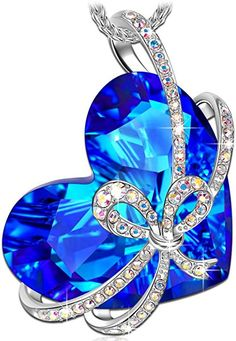 Epinki Gold Plated Womens Girls Pendant Necklace Butterfly Exquisite Rose Gold