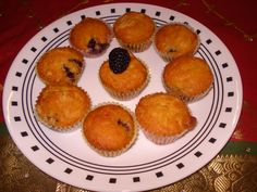 Yummy Blackberry Muffins