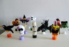 Tubete Halloween feltro