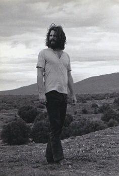Jim Morrison in Mexico, 1969.